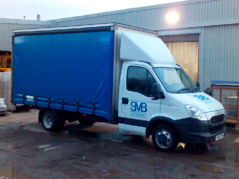 SMB Pressings Transport Delivery Van